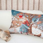 Декоративная подушка MagicWool