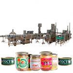 Линии для производства мясных консервов BESTEQ-MCL