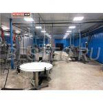 Линия производства рыбных консервов (обжаренная рыба в заливке) BESTEQ-FCL-9000 бан/смена