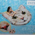 Надувной плот -островок Кошачья голова,Intex